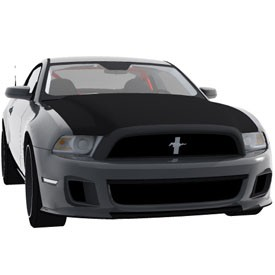 Ford Mustang 2012 3D Object | FREE Artlantis Objects Download