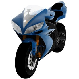 Yamaha YZF R1 3D Object | FREE Artlantis Objects Download
