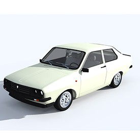 Dacia 1410 Sport 3D Object | FREE Artlantis Objects Download