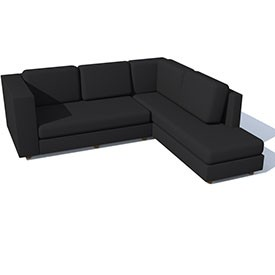 Canape corner sofa 3d object free artlantis objects download for Canape tutorial