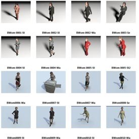 business people 40 3d object free artlantis objects. Black Bedroom Furniture Sets. Home Design Ideas