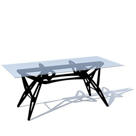 skelet table 3D Object | FREE Artlantis Objects Download