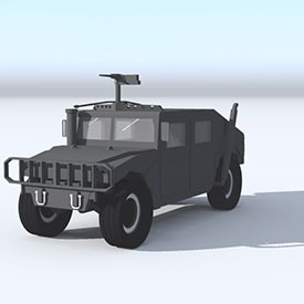 Humvee 3D Object | FREE Artlantis Objects Download