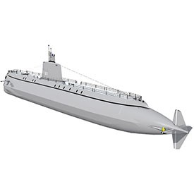 USS Nautilus 3D Object | FREE Artlantis Objects Download