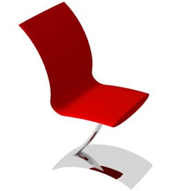 Stoel chair 3D Object | FREE Artlantis Objects Download