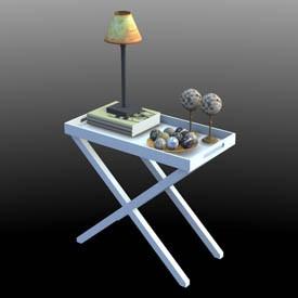 little table 3d object free artlantis objects download. Black Bedroom Furniture Sets. Home Design Ideas