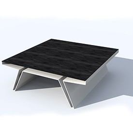 BB Square table 3D Object | FREE Artlantis Objects Download