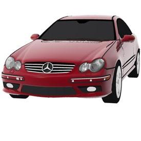 Mercedes CLK 500 3D Object | FREE Artlantis Objects Download