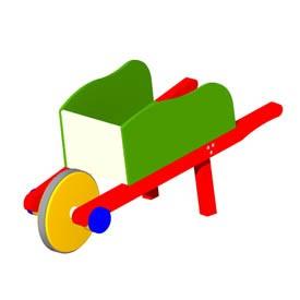 Toy Wheelbarrow 3d Object Free Artlantis Objects Download