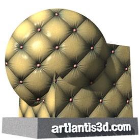 Chesterfiled Shader | Artlantis Materials FREE Download