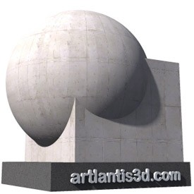 Concrete Panels Shader | Artlantis Materials FREE Download