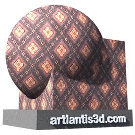 Dianonds carpet Shader | Artlantis Materials FREE Download