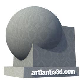 Wallpaper Chateau Black Shader | Artlantis Materials FREE Download