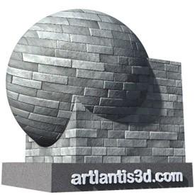 Slate tiles Shader | Artlantis Materials FREE Download
