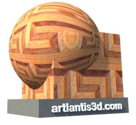 Parquet5 Shader | Artlantis Materials FREE Download